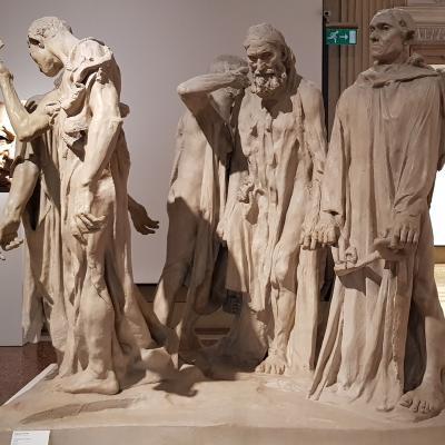 Auguste Rodin, die Bürger von Calais 1889