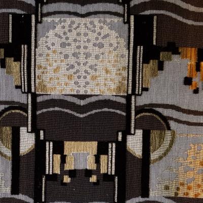 fertiger Stoff im Design des Art Nouveau