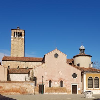 Seiteneingang von San Giacomo dell´Orio