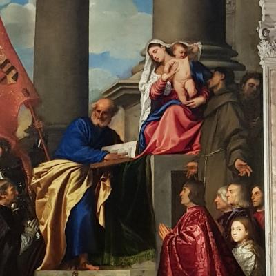 Tiziano, Madonna di Pesaro